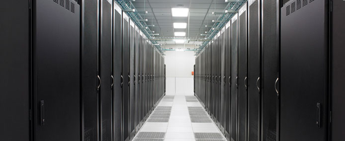 Data Centre Aisle