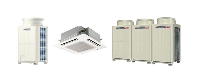 Mitsubishi Air Conditioning Equipment
